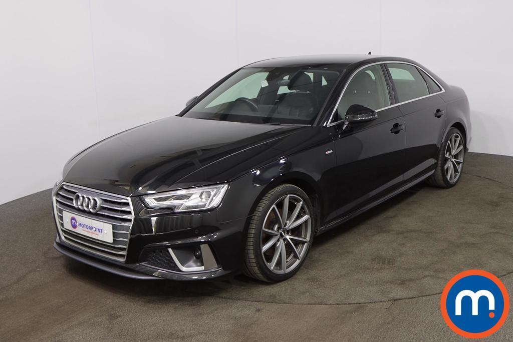 Audi A4 35 TFSI S Line 4dr - Stock Number 1208494 Passenger side front corner