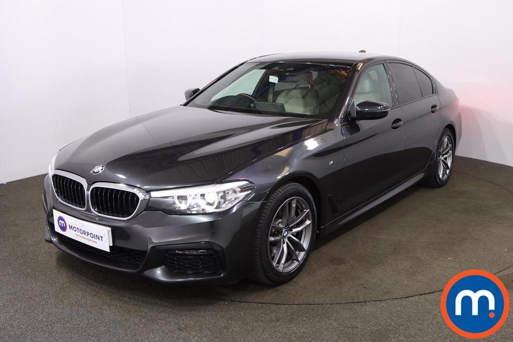 BMW 5 Series 520d M Sport 4dr Auto - Stock Number 1209644 Passenger side front corner