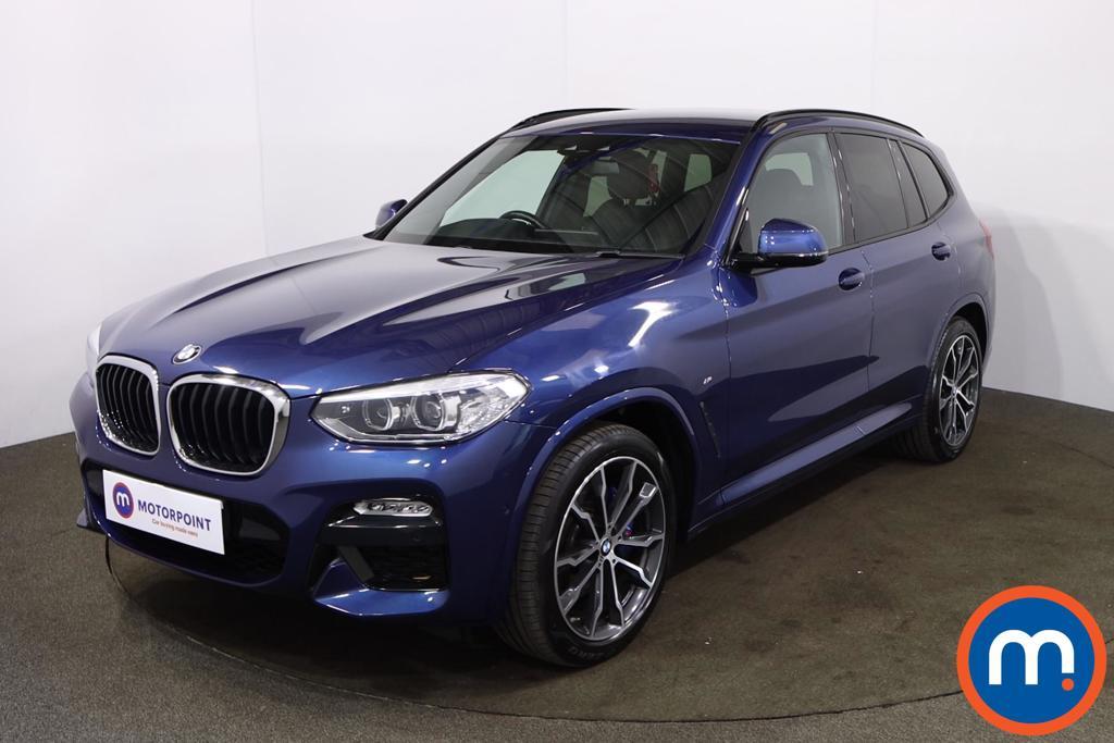 BMW X3 xDrive20d M Sport 5dr Step Auto - Stock Number 1211163 Passenger side front corner