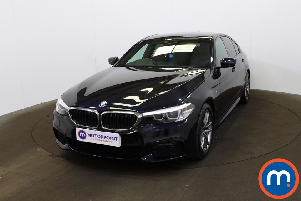 BMW 5 Series 520i M Sport 4dr Auto - Stock Number 1209260 Passenger side front corner