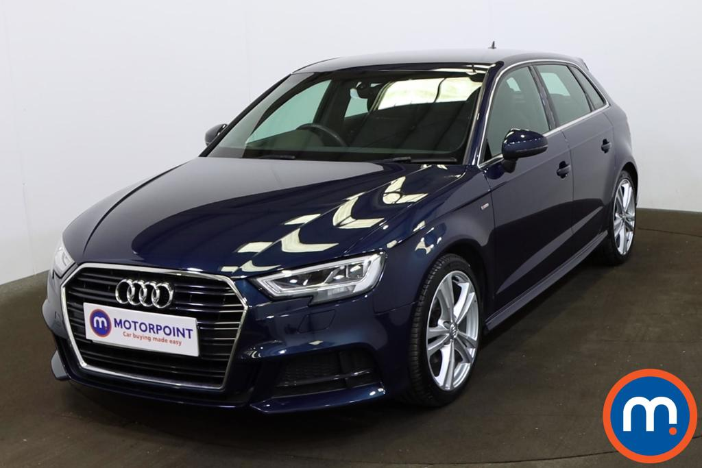 Audi A3 1.5 TFSI S Line 5dr S Tronic [Tech Pack] - Stock Number 1211016 Passenger side front corner