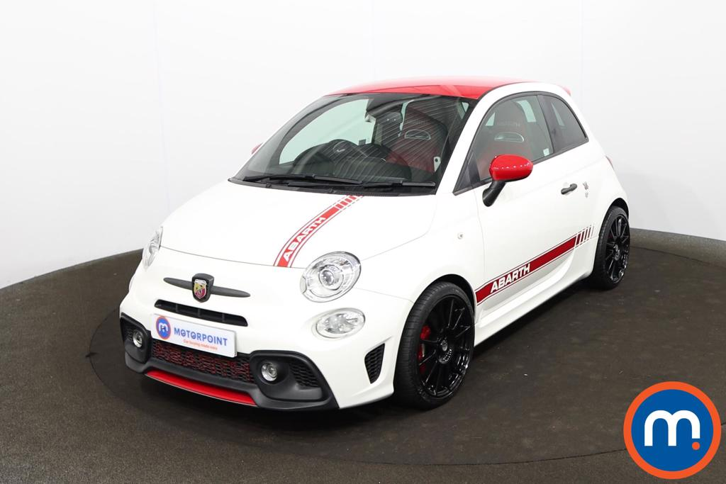 Abarth 595 1.4 T-Jet 180 Competizione 3dr - Stock Number 1213403 Passenger side front corner