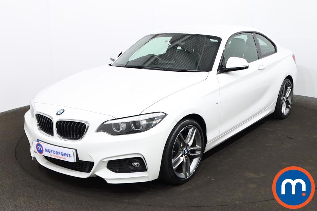 BMW 2 Series 220d M Sport 2dr [Nav] Step Auto - Stock Number 1214423 Passenger side front corner