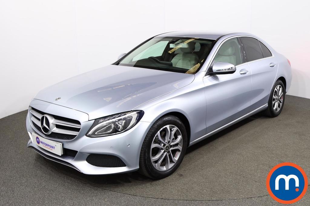 Mercedes-Benz C Class C200 Sport 4dr 9G-Tronic - Stock Number 1214546 Passenger side front corner
