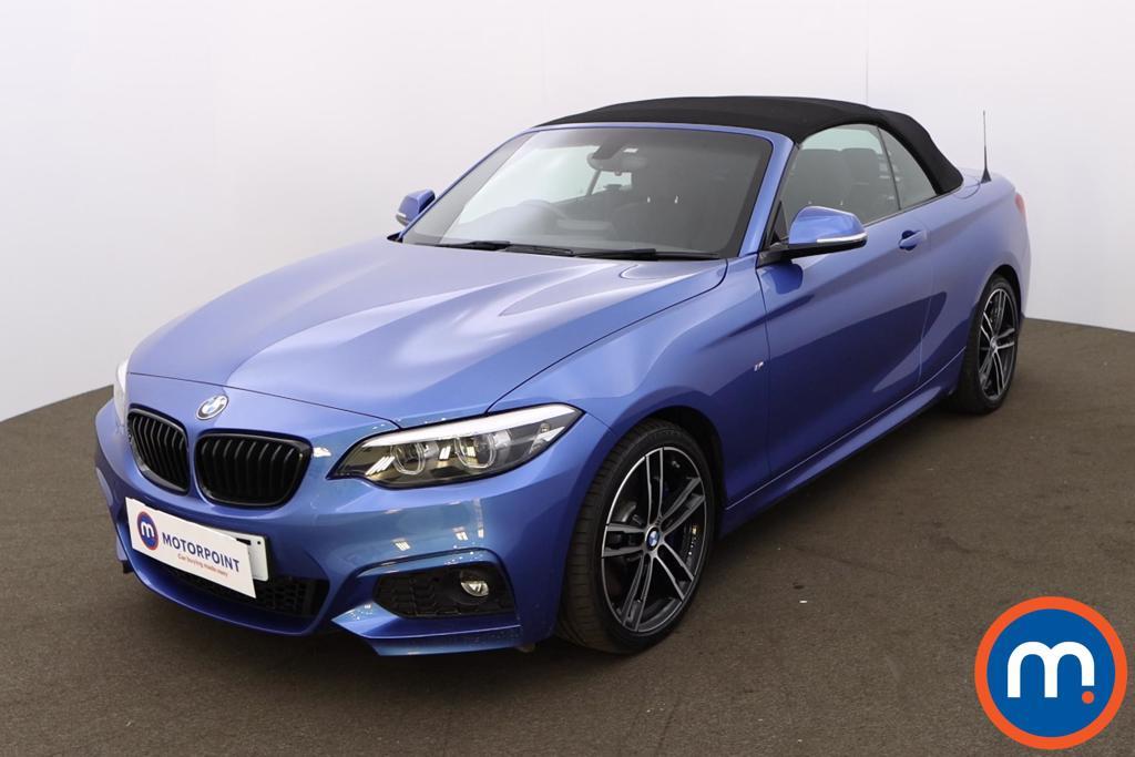 BMW 2 Series 218d M Sport 2dr [Nav] Step Auto - Stock Number 1213592 Passenger side front corner