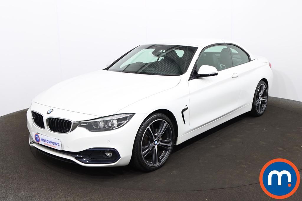 BMW 4 Series 420d [190] Sport 2dr Auto [Business Media] - Stock Number 1213561 Passenger side front corner