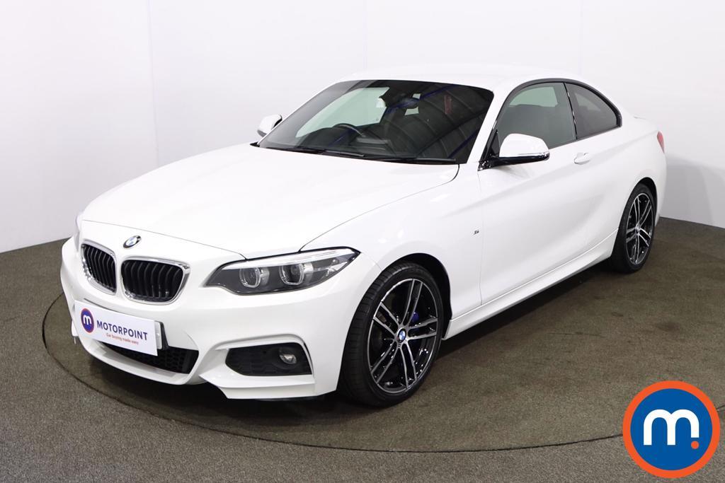 BMW 2 Series 220i M Sport 2dr [Nav] Step Auto - Stock Number 1208597 Passenger side front corner