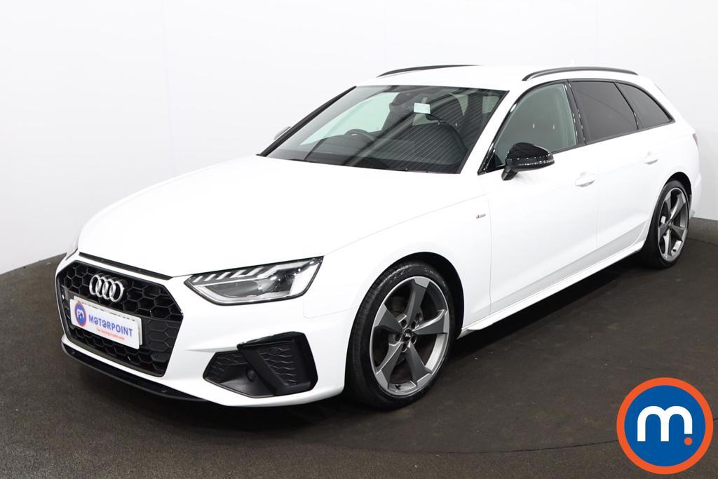 Audi A4 35 TDI Black Edition 5dr S Tronic - Stock Number 1209122 Passenger side front corner