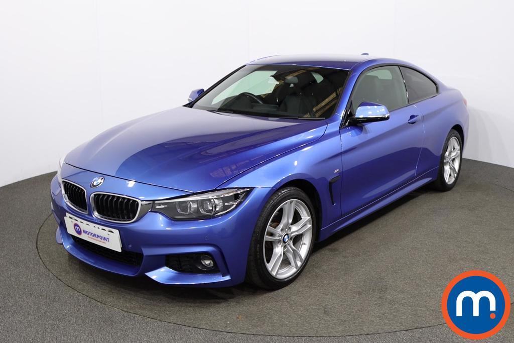 BMW 4 Series 420d [190] M Sport 2dr Auto [Professional Media] - Stock Number 1211506 Passenger side front corner