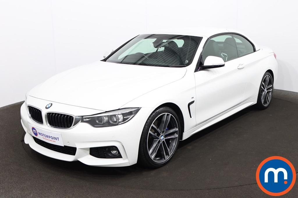 BMW 4 Series 420i M Sport 2dr Auto [Professional Media] - Stock Number 1212501 Passenger side front corner