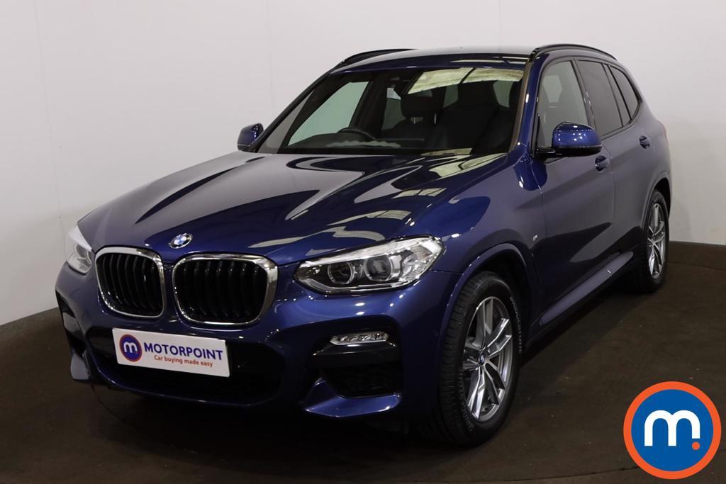 BMW X3 xDrive20d M Sport 5dr Step Auto - Stock Number 1214464 Passenger side front corner