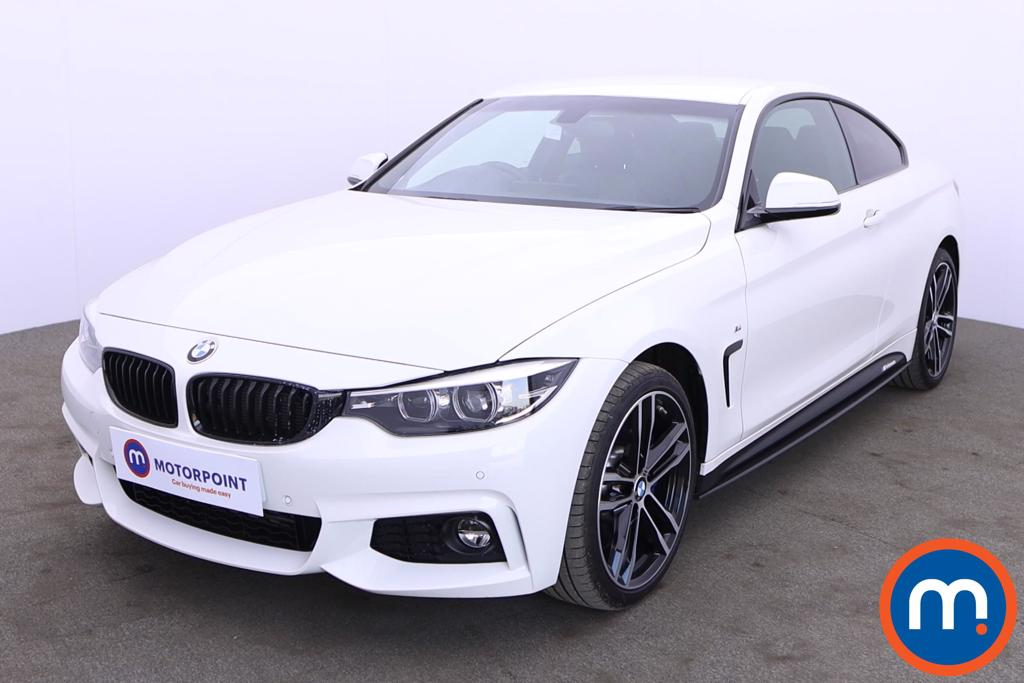 BMW 4 Series 435d xDrive M Sport 2dr Auto [Professional Media] - Stock Number 1214561 Passenger side front corner