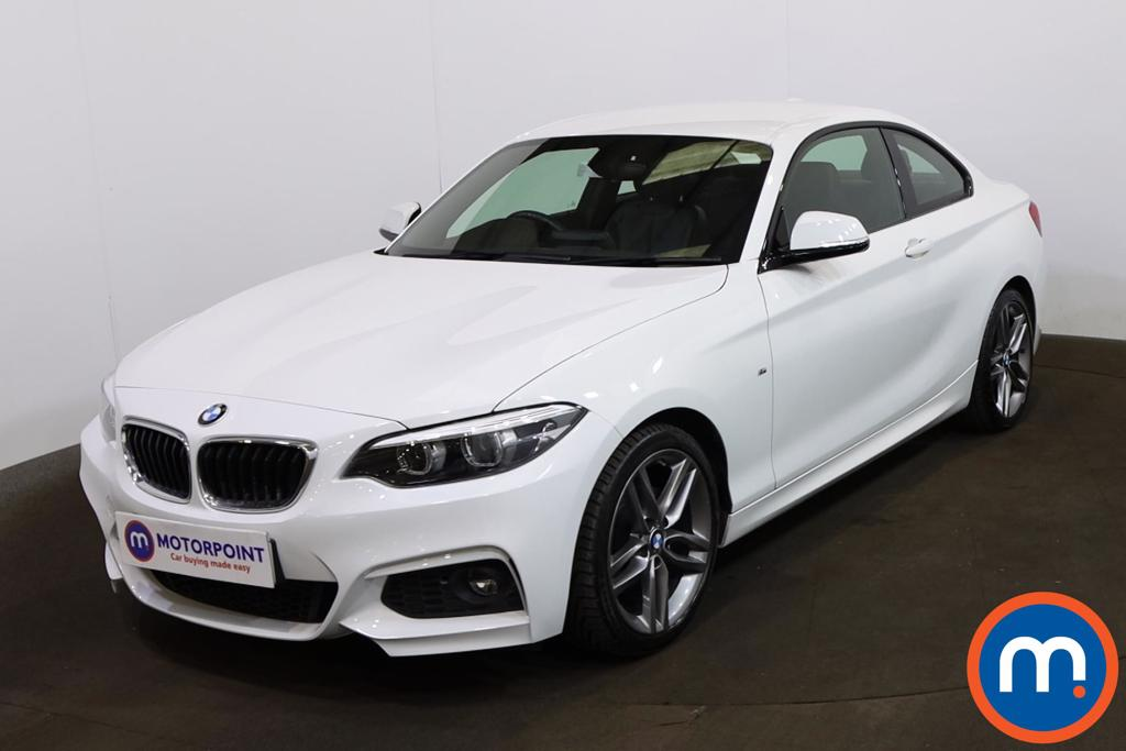 BMW 2 Series 218d M Sport 2dr Step Auto [Nav] - Stock Number 1208638 Passenger side front corner