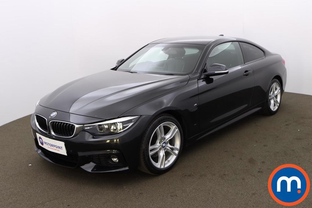 BMW 4 Series 420d [190] M Sport 2dr Auto [Professional Media] - Stock Number 1215911 Passenger side front corner