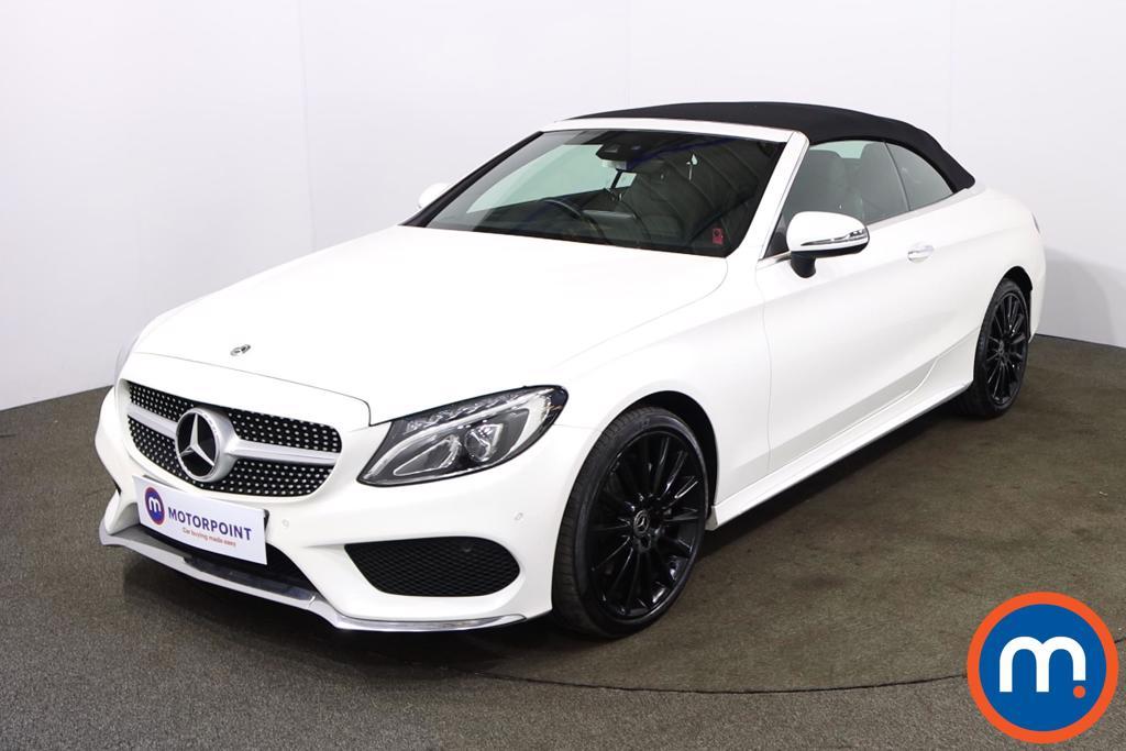 Mercedes-Benz C Class C220d 4Matic AMG Line Premium Plus 2dr Auto - Stock Number 1214074 Passenger side front corner
