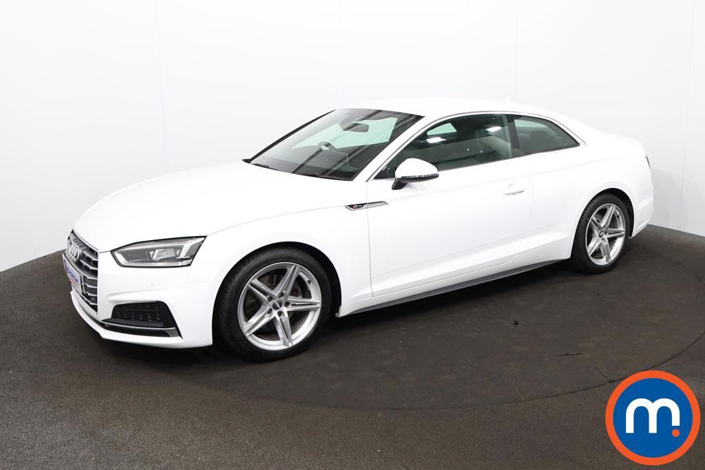 Audi A5 2.0 TFSI S Line 2dr [Tech Pack] - Stock Number 1216450 Passenger side front corner