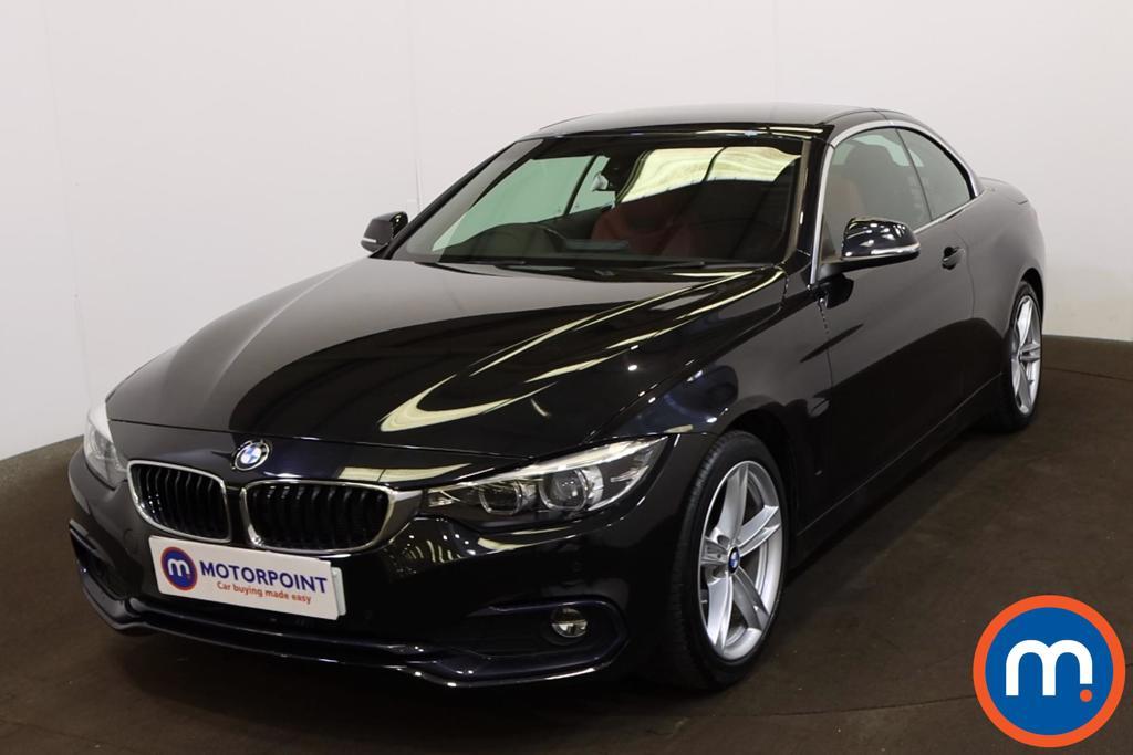 BMW 4 Series 420d [190] Sport 2dr Auto [Business Media] - Stock Number 1207697 Passenger side front corner