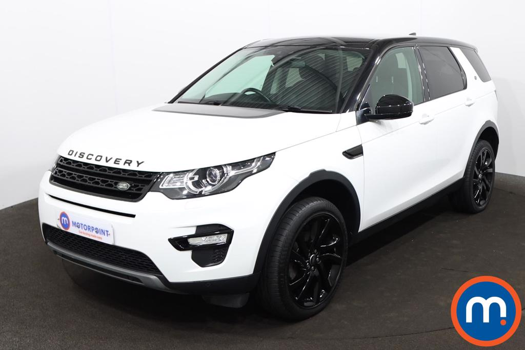 Land Rover Discovery Sport 2.0 TD4 180 HSE Black 5dr Auto - Stock Number 1210649 Passenger side front corner