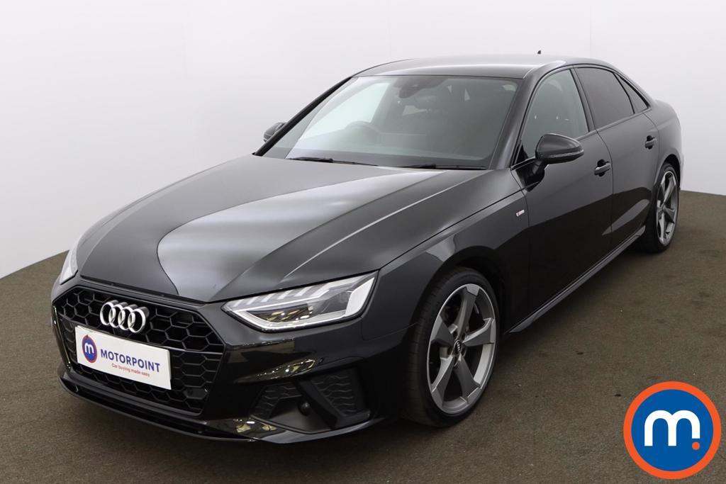 Audi A4 35 TFSI Black Edition 4dr [Comfort-PlusSound] - Stock Number 1213663 Passenger side front corner
