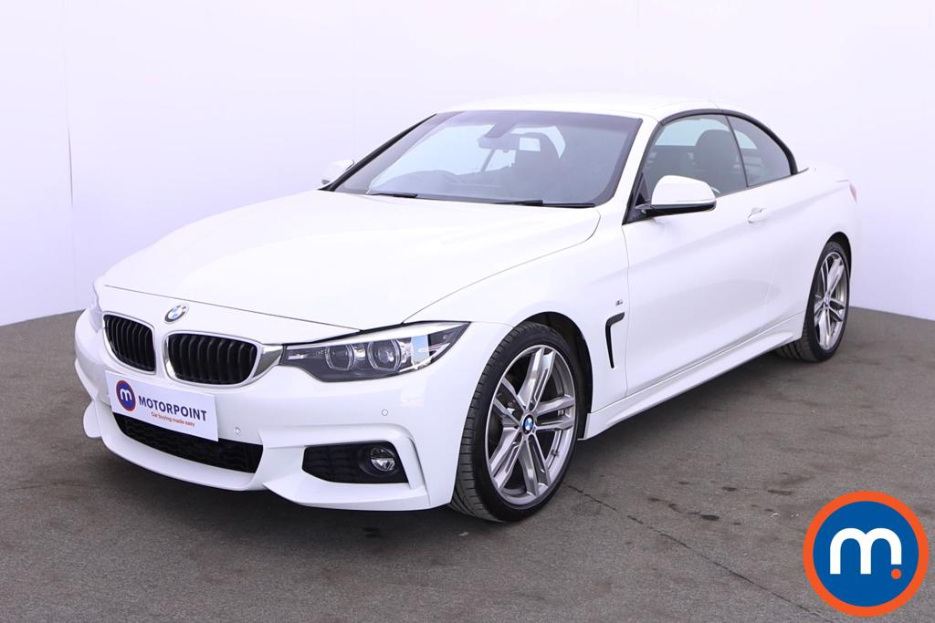 BMW 4 Series 420i M Sport 2dr Auto [Professional Media] - Stock Number 1210575 Passenger side front corner