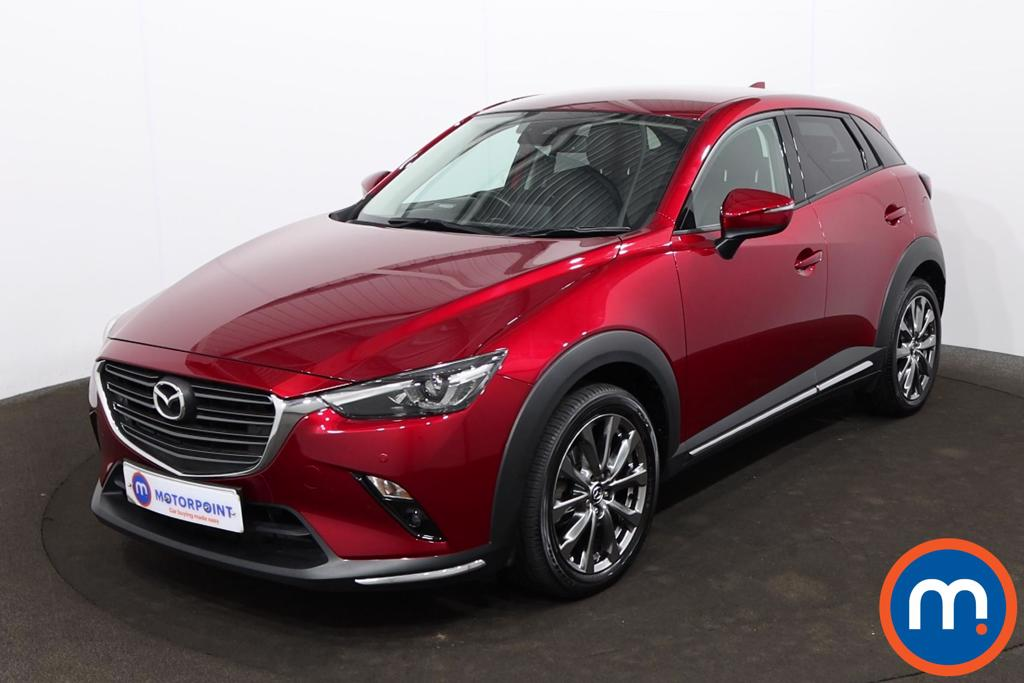 Mazda Cx-3 2.0 Sport Nav -Plus 5dr Auto - Stock Number 1216019 Passenger side front corner