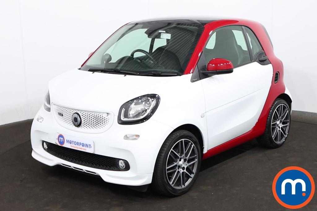 Smart Fortwo Coupe 0.9 Turbo 109 BRABUS Xclusive 2dr Auto - Stock Number 1216433 Passenger side front corner