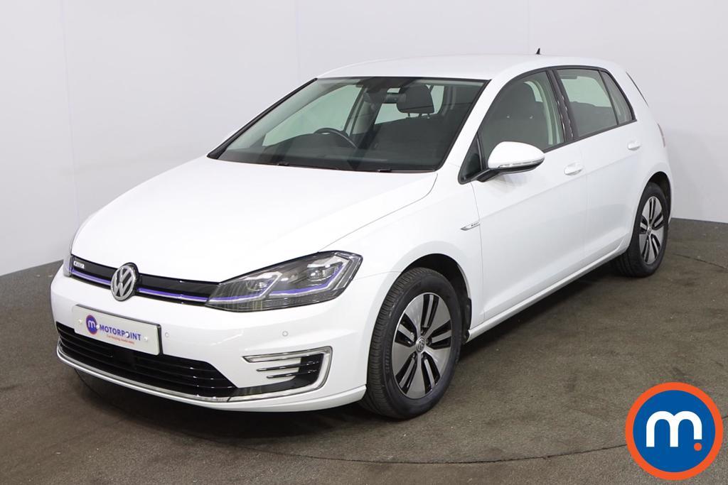 Volkswagen Golf 99kW e-Golf 35kWh 5dr Auto - Stock Number 1216773 Passenger side front corner