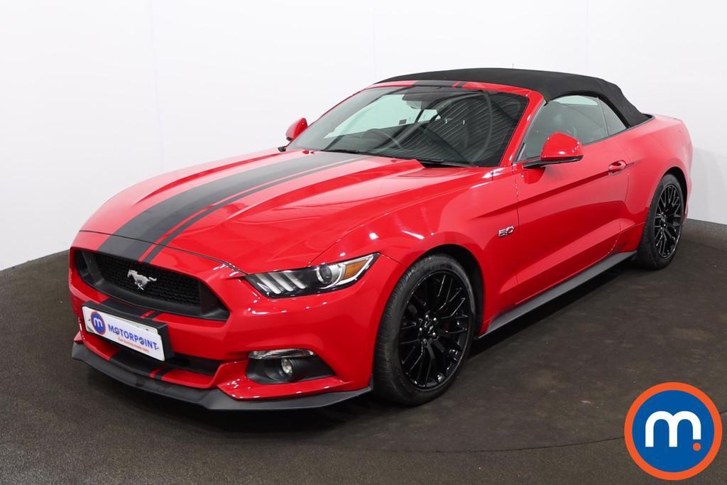 Ford Mustang 5.0 V8 GT [Custom Pack] 2dr - Stock Number 1216881 Passenger side front corner