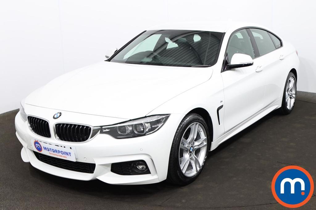 BMW 4 Series 420i M Sport 5dr Auto [Professional Media] - Stock Number 1217650 Passenger side front corner
