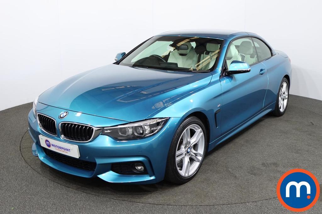 BMW 4 Series 420d [190] M Sport 2dr Auto [Professional Media] - Stock Number 1215987 Passenger side front corner