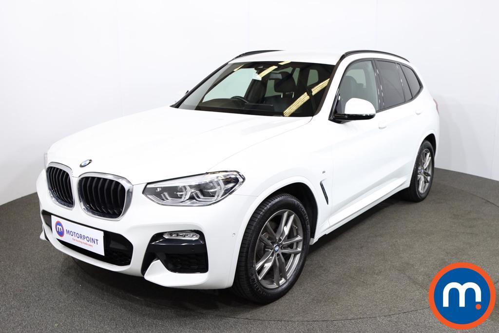 BMW X3 xDrive20d M Sport 5dr Step Auto - Stock Number 1216923 Passenger side front corner
