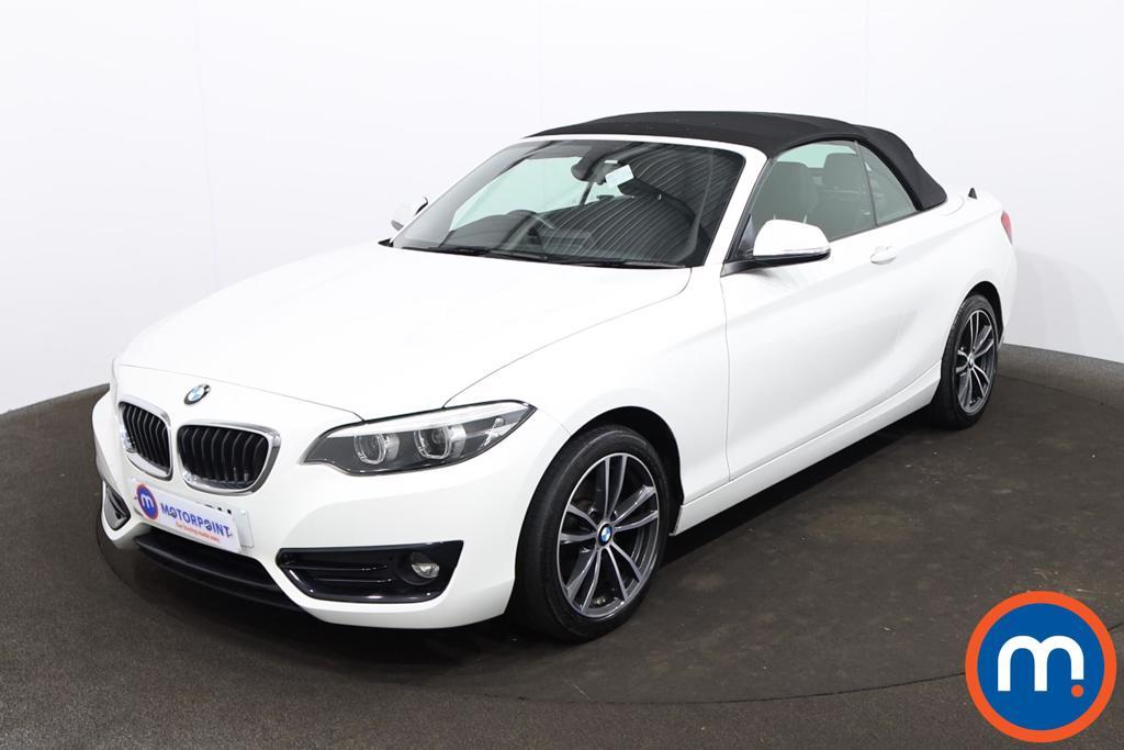 BMW 2 Series 218i Sport 2dr [Nav] - Stock Number 1217591 Passenger side front corner