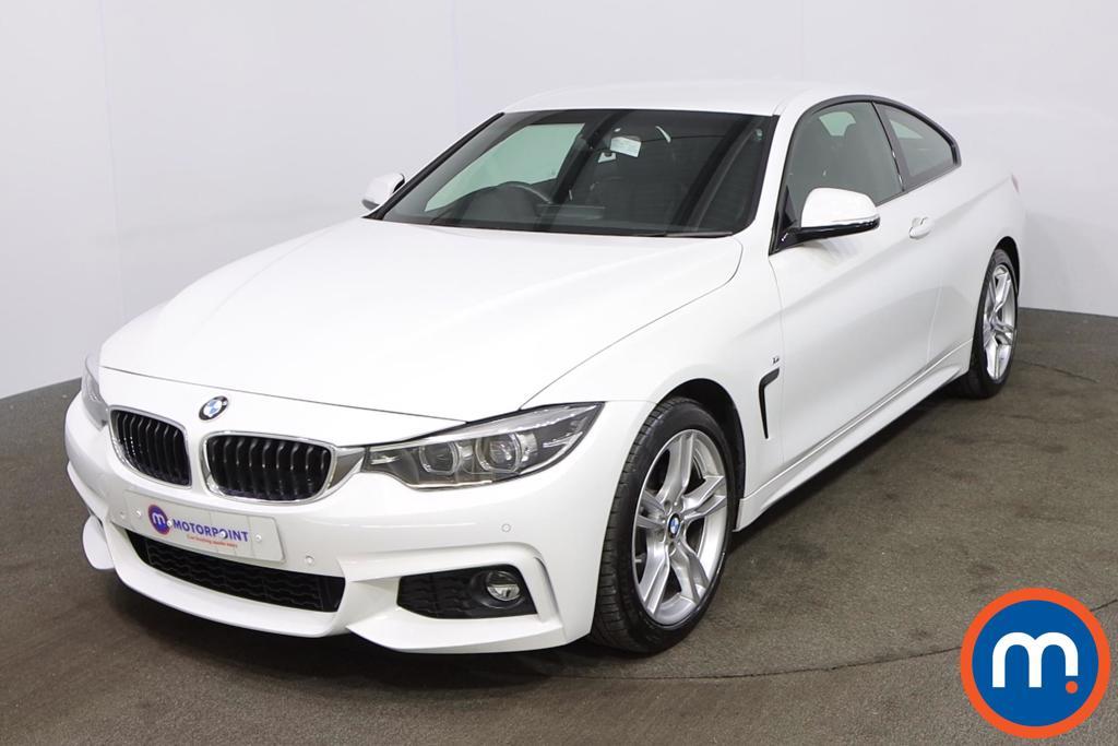 BMW 4 Series 420i M Sport 2dr Auto [Professional Media] - Stock Number 1218299 Passenger side front corner