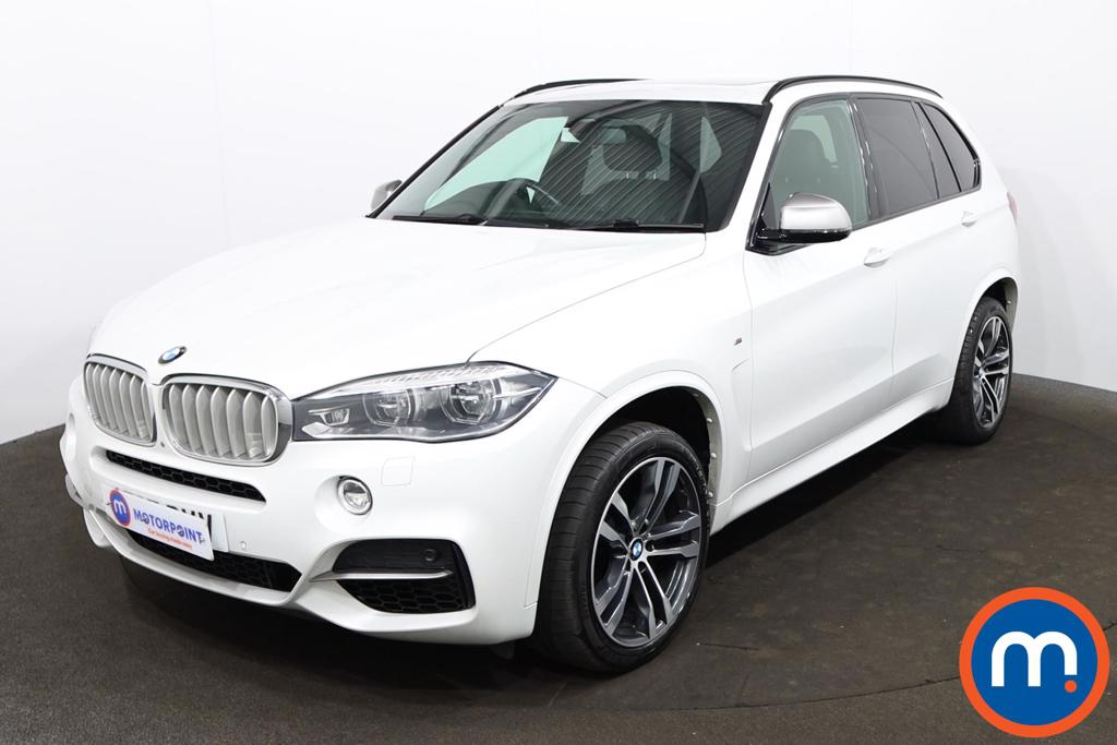 BMW X5 xDrive M50d 5dr Auto [7 Seat] - Stock Number 1218378 Passenger side front corner