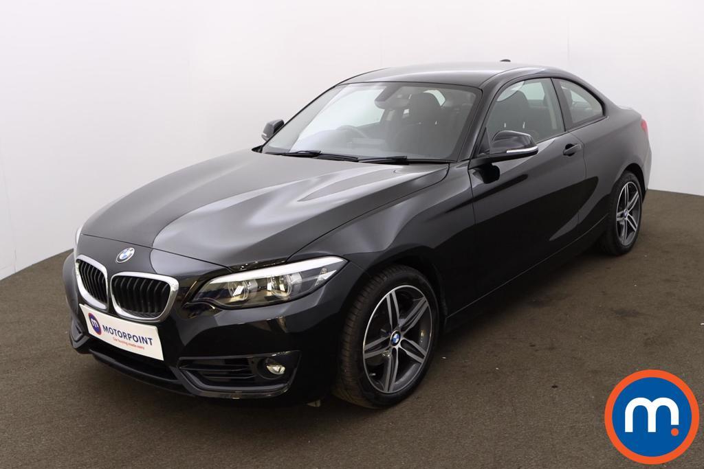 BMW 2 Series 218i Sport 2dr [Nav] Step Auto - Stock Number 1217223 Passenger side front corner