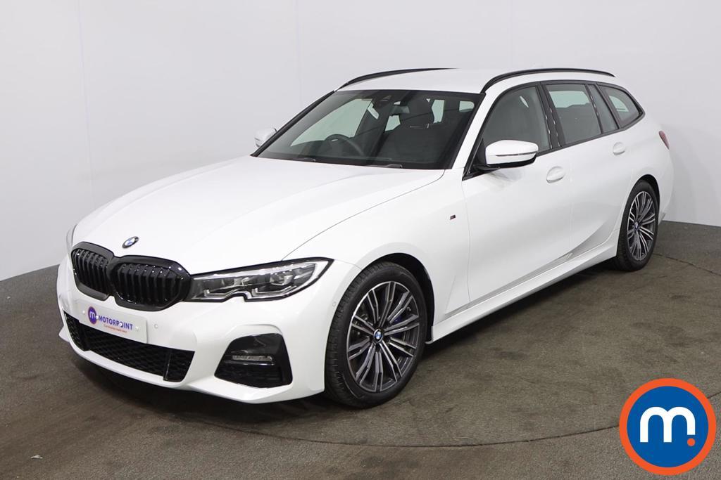 BMW 3 Series 330d MHT M Sport 5dr Step Auto - Stock Number 1218300 Passenger side front corner