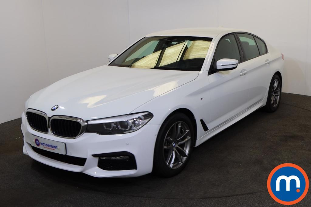 BMW 5 Series 520d M Sport 4dr Auto - Stock Number 1200108 Passenger side front corner
