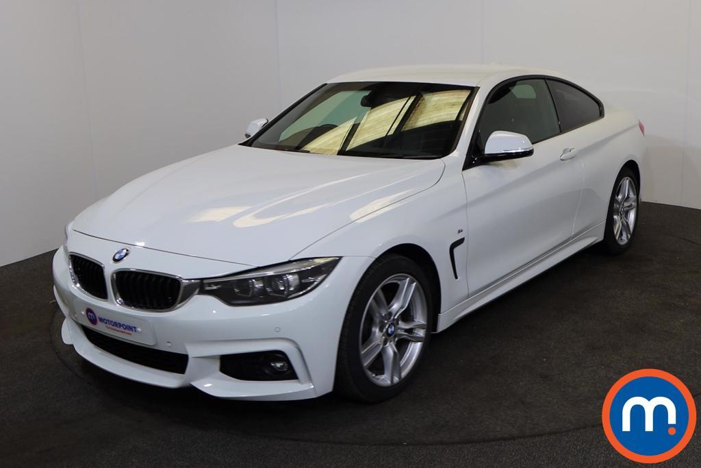 BMW 4 Series 420d [190] M Sport 2dr Auto [Professional Media] - Stock Number 1216406 Passenger side front corner