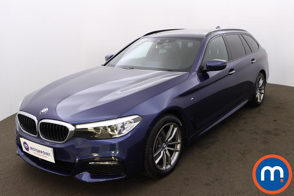 BMW 5 Series 520d xDrive M Sport 5dr Auto - Stock Number 1217052 Passenger side front corner