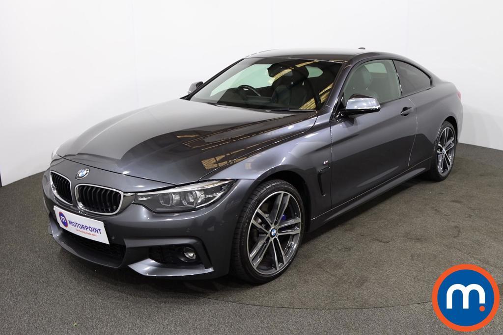 BMW 4 Series 435d xDrive M Sport 2dr Auto [Professional Media] - Stock Number 1217160 Passenger side front corner