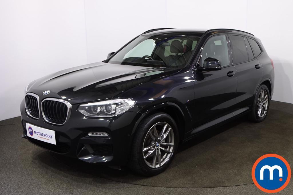 BMW X3 xDrive20d M Sport 5dr Step Auto - Stock Number 1216821 Passenger side front corner