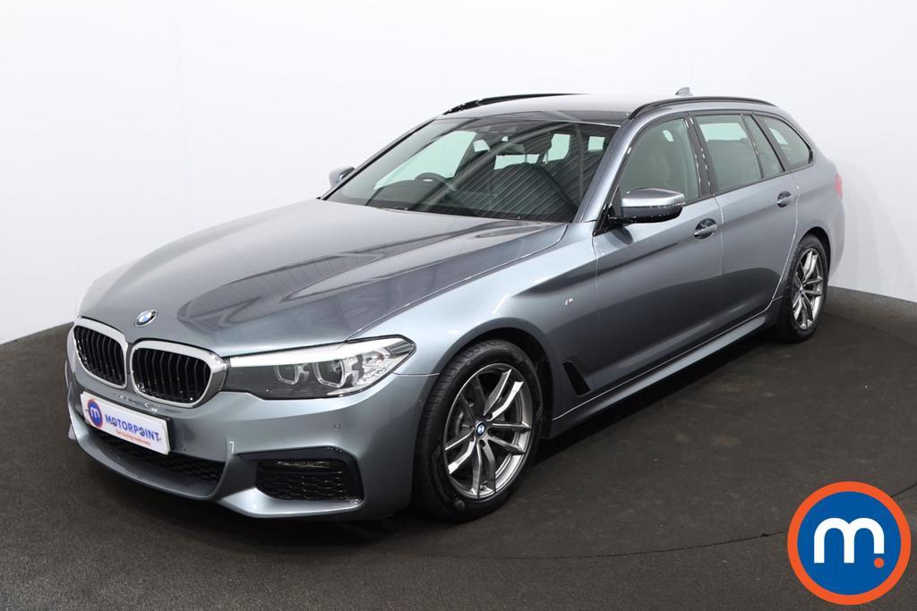 BMW 5 Series 520d M Sport 5dr Auto - Stock Number 1218337 Passenger side front corner