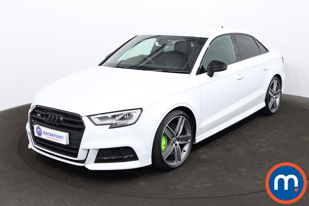 Audi A3 S3 TFSI 300 Quattro Black Edn 4dr S Tronic [Tech] - Stock Number 1218728 Passenger side front corner