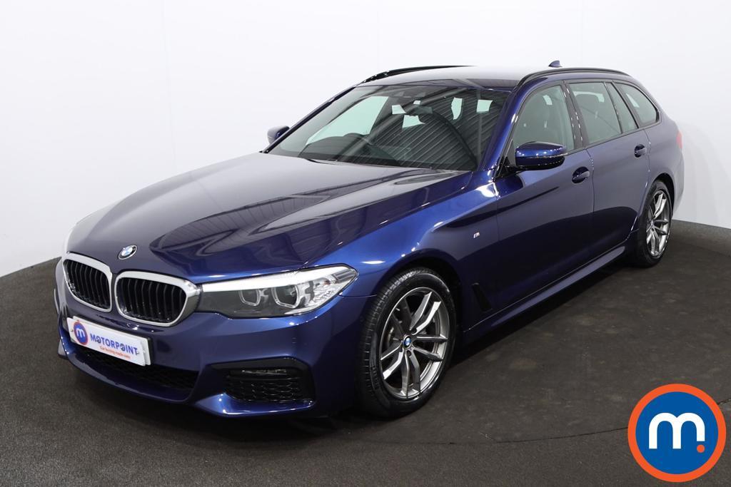 BMW 5 Series 520d M Sport 5dr Auto - Stock Number 1215318 Passenger side front corner