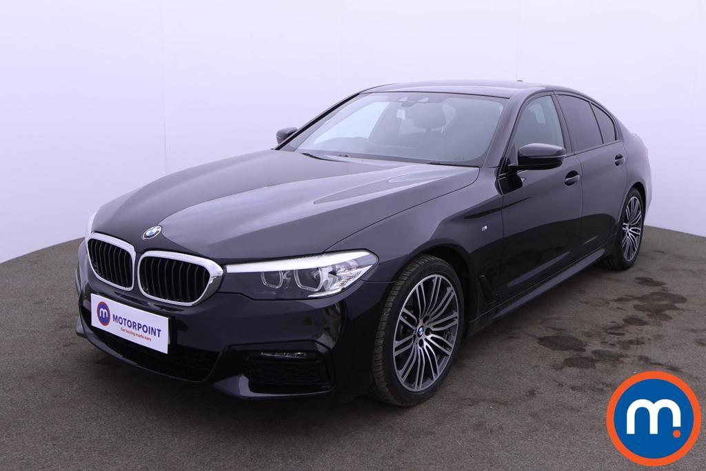 BMW 5 Series 520d xDrive M Sport 4dr Auto - Stock Number 1215745 Passenger side front corner