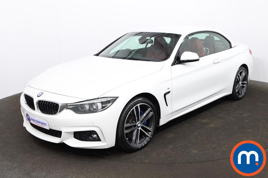 BMW 4 Series 435d xDrive M Sport 2dr Auto [Professional Media] - Stock Number 1215770 Passenger side front corner