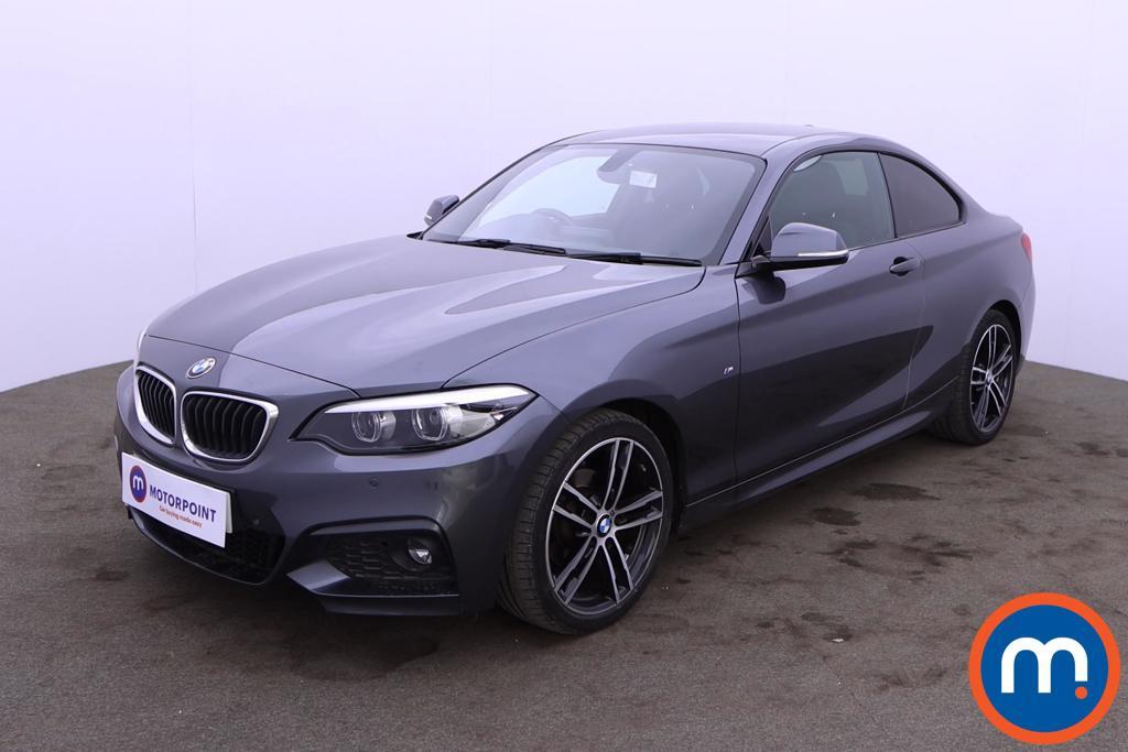 BMW 2 Series 218d M Sport 2dr Step Auto [Nav] - Stock Number 1217466 Passenger side front corner