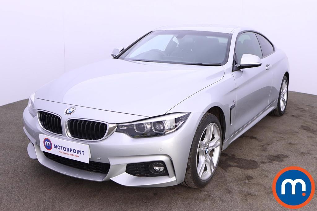 BMW 4 Series 420i xDrive M Sport 2dr Auto [Professional Media] - Stock Number 1217681 Passenger side front corner