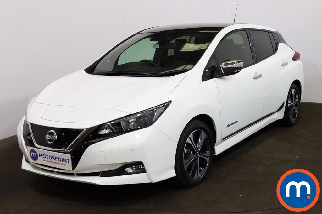Nissan Leaf 110kW N-Connecta 40kWh 5dr Auto - Stock Number 1218273 Passenger side front corner