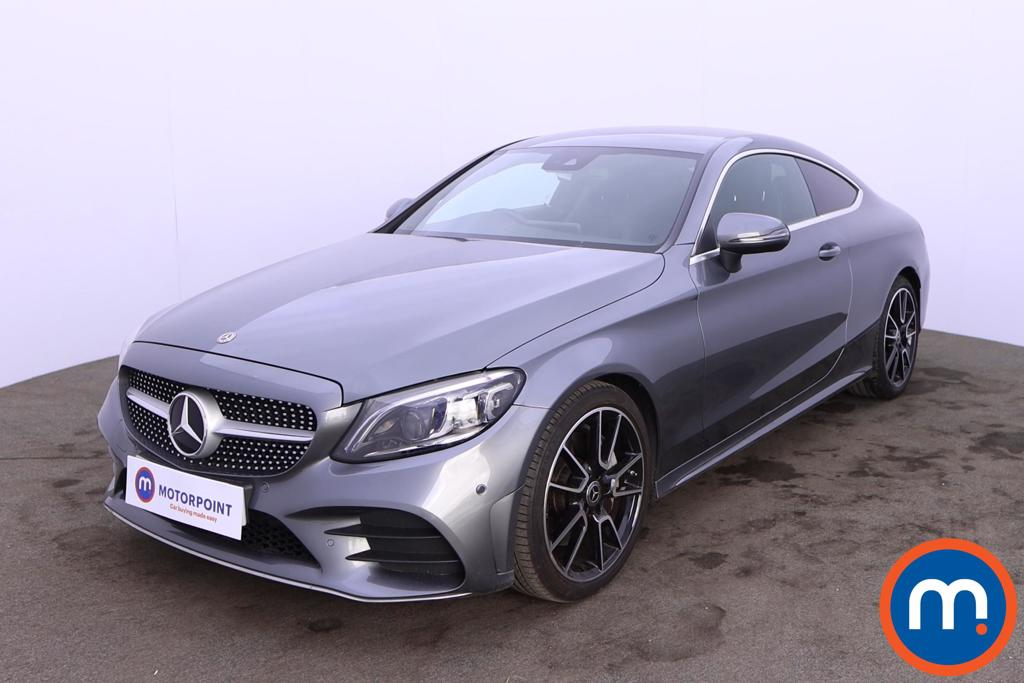 Mercedes-Benz C Class C300 AMG Line Premium 2dr 9G-Tronic - Stock Number 1215606 Passenger side front corner